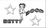 Betty Boop We Coloring Page 257
