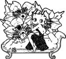 Betty Boop We Coloring Page 289