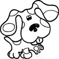 Blue's Clues Coloring Page 02