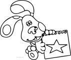 Blue's Clues Coloring Page 16