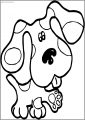 Blues Clues Hand Free A4 Printable Coloring Page