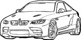 Bmw Two Coloring Page