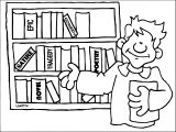 Books Amp Bookshelves Clipart For Kids Amp Teachers Kids We Coloring Page