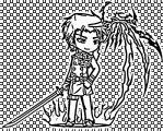 Boy Anime Gacha Coloring Page