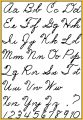 Calligraphy Pen Text Coloring Pages
