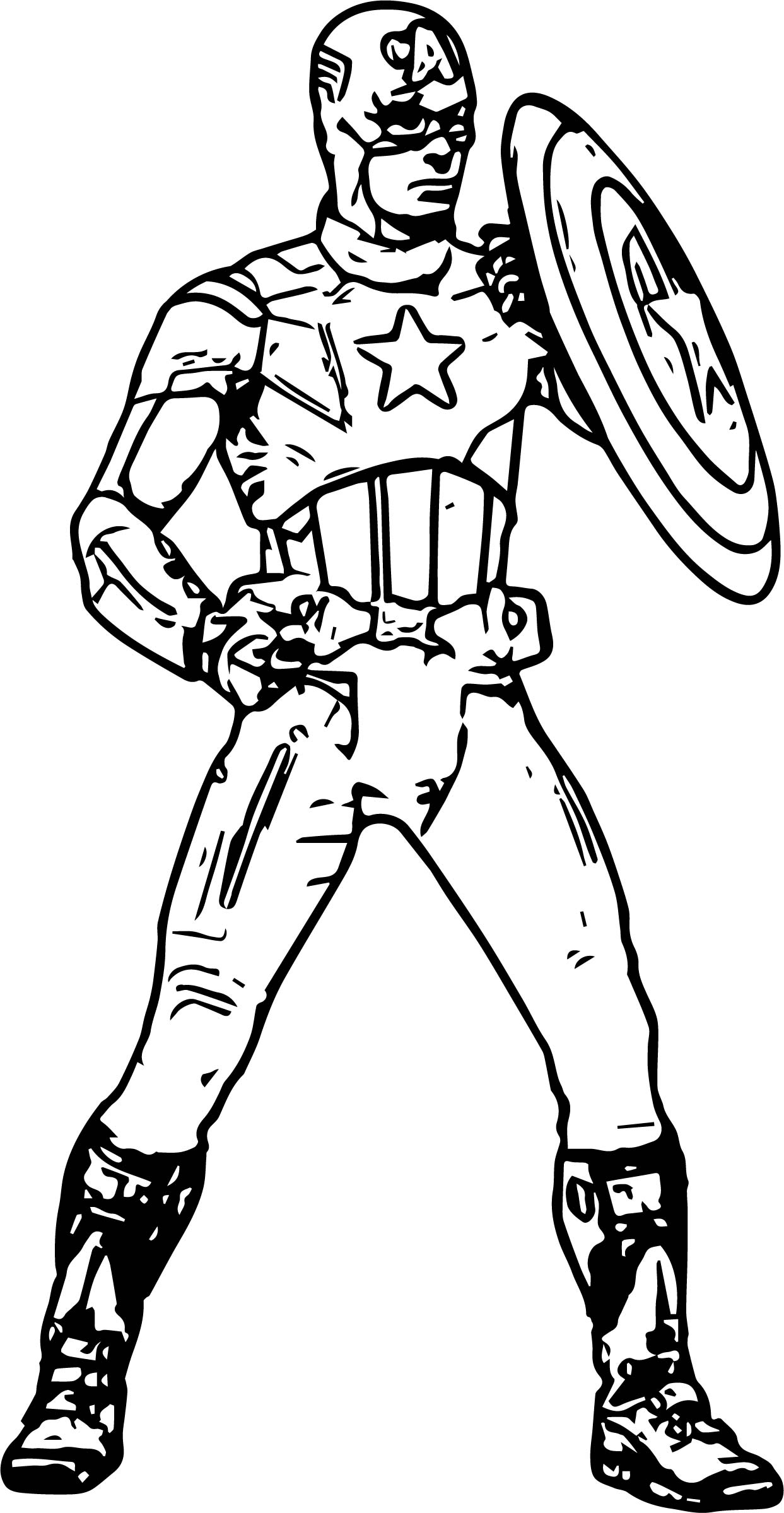 Captain Coloring Page17