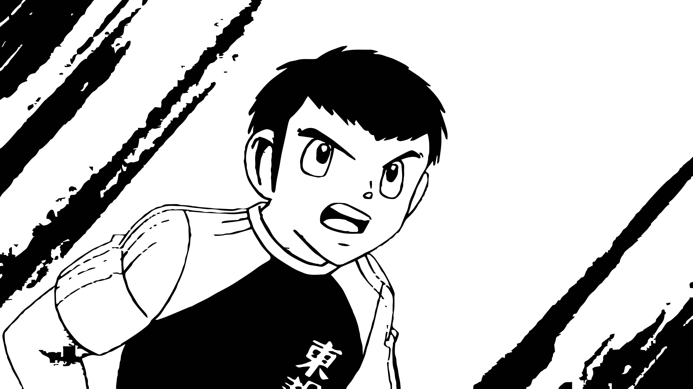 Captain Tsubasa Coloring Page 05