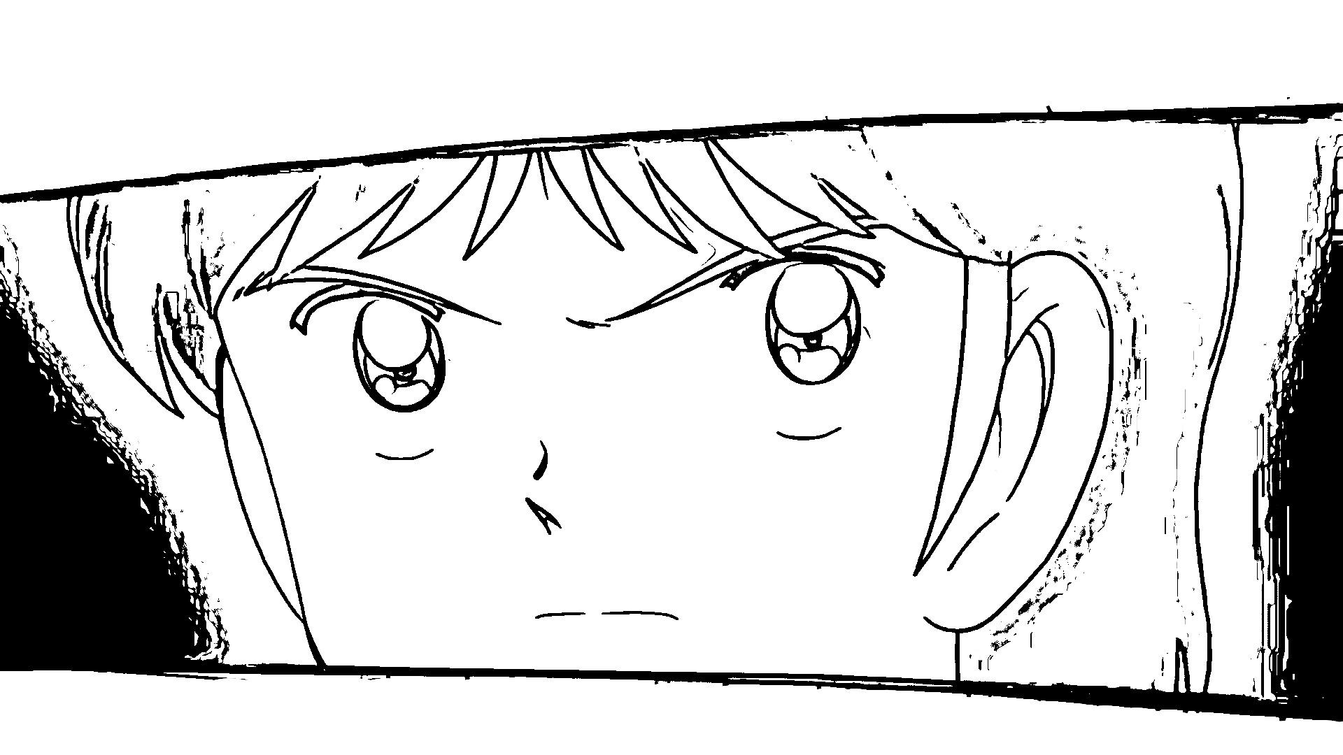 Captain Tsubasa Coloring Page 12