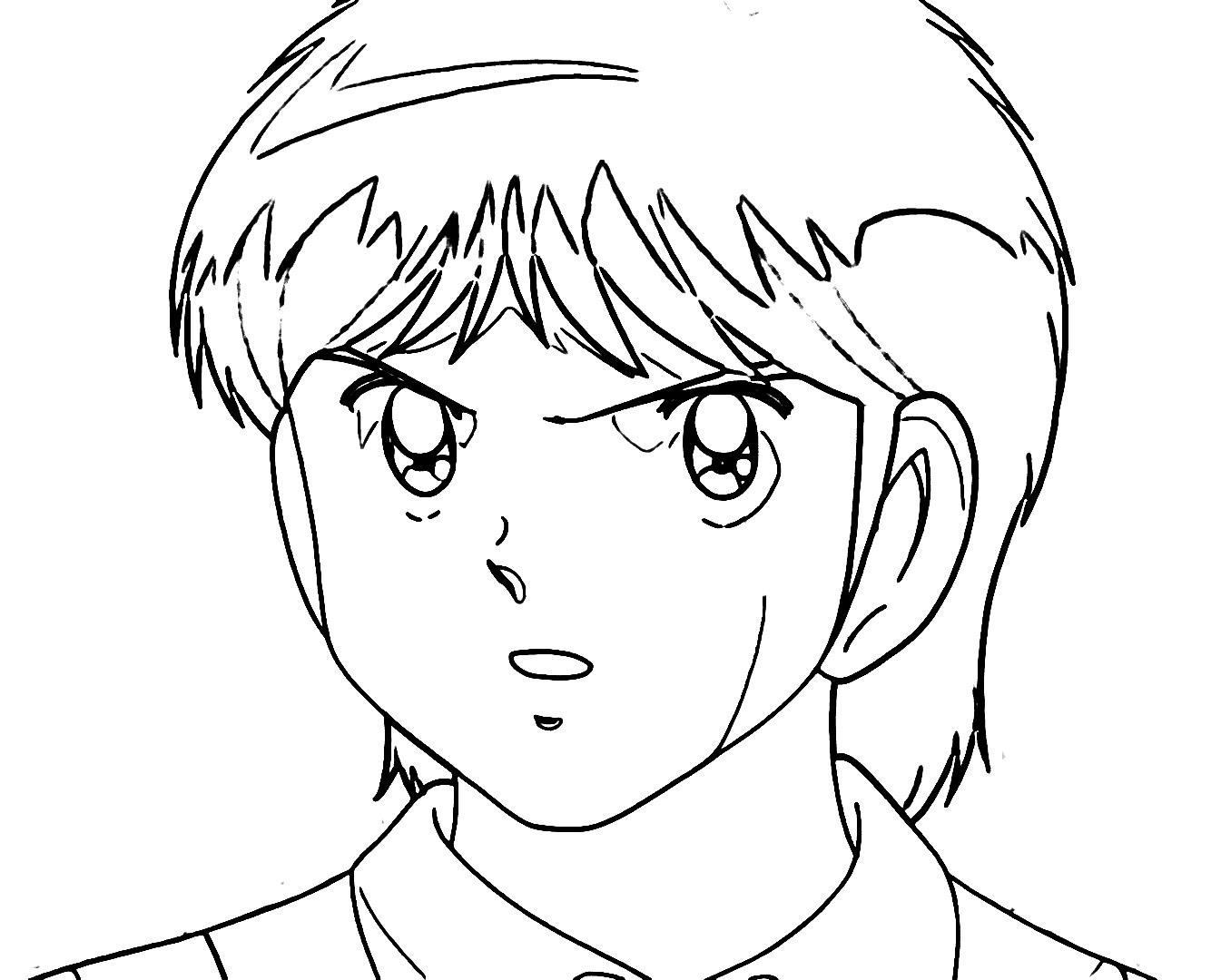 Captain Tsubasa Coloring Page 14