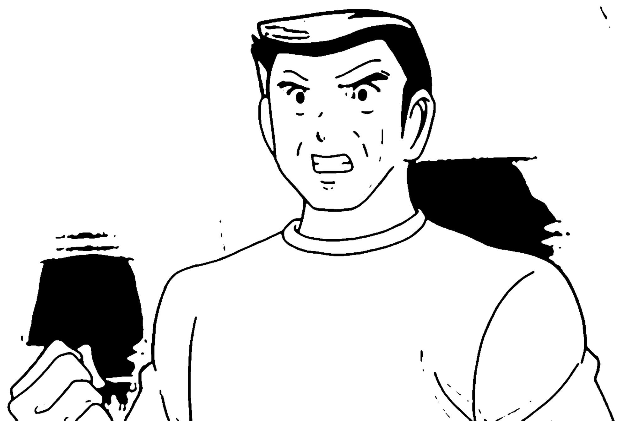 Captain Tsubasa Coloring Page 21