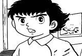 Captain Tsubasa Coloring Page 35