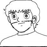 Captain Tsubasa Coloring Page 36