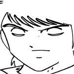 Captain Tsubasa Coloring Page 37