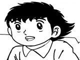Captain Tsubasa Coloring Page 38