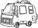Cartoon_RV_C 1 md trans Car Van coloring page