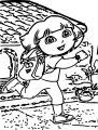 Casa De Dora New Adventures Coloring Page