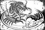 Centipoid Coloring Page