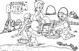 Chhota Bheem And Friends Play Coloring Page35