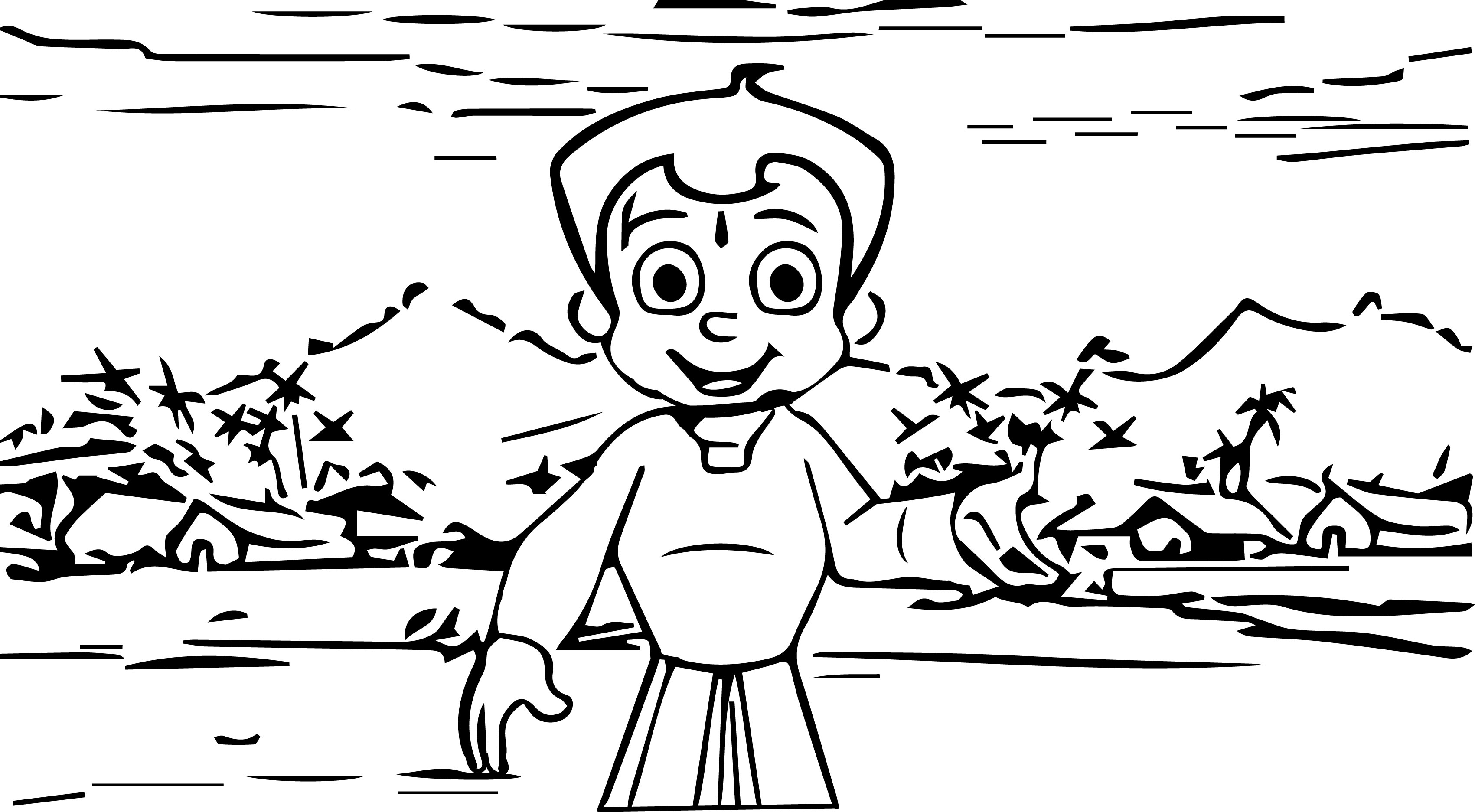 Chhota Bheem Coloring Page37