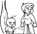 Chhota Bheem Coloring Page42 Angry