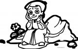 Chhota Bheem Coloring Page64 Happy Stay On Stone