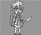Chibi Gacha Studio Anime Dress Up Image Drawing Chibi Coloring Page