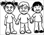 Child 168clipart 7TaMq4GTA Kids We Coloring Page