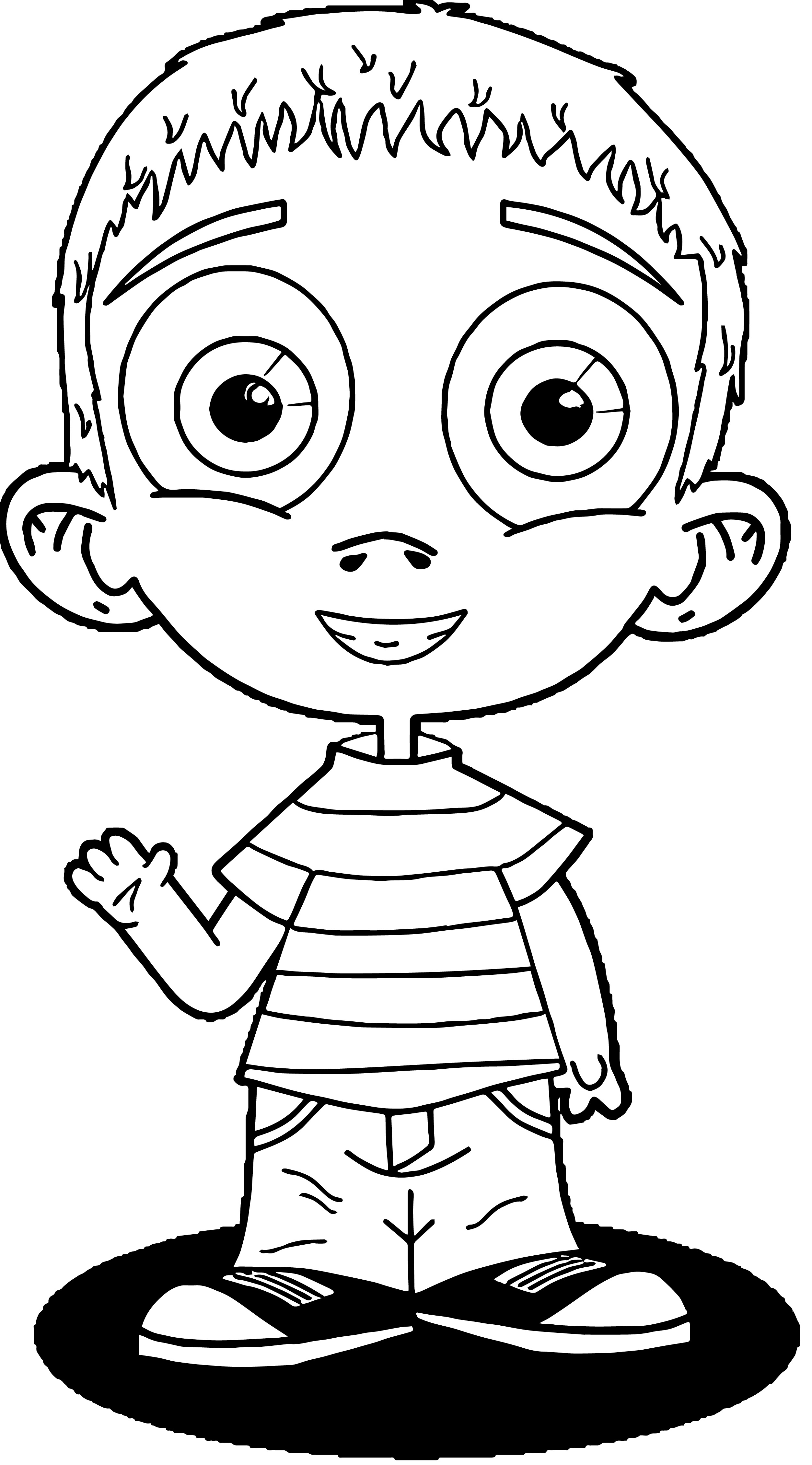 Child Clip Art 169 Kids We Coloring Page