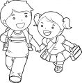 Children 172clipart Kije55aXT Kids We Coloring Page