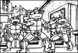 Children Coloring Page Of Ninja Turtle