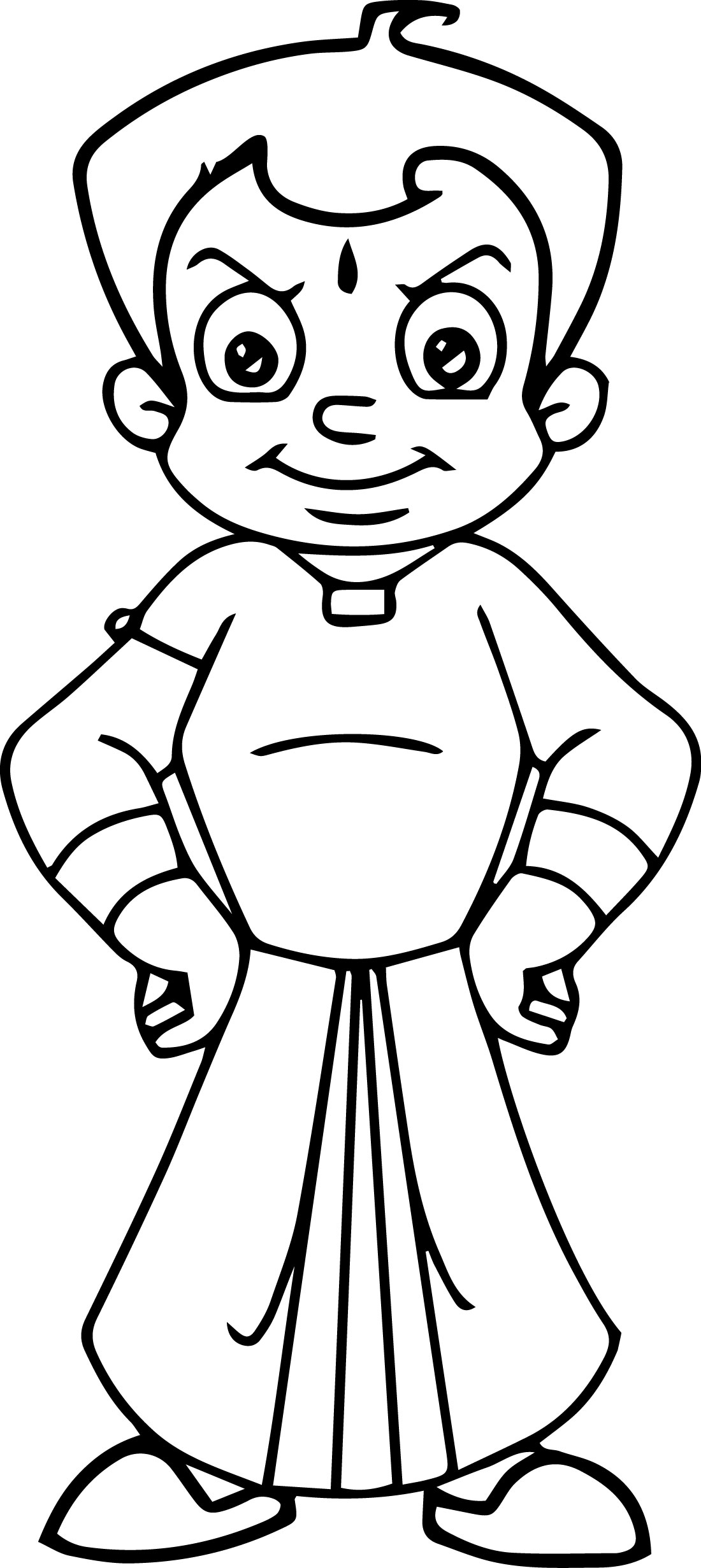 Chota Bheem Coloring Pages 21