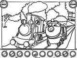 Chuggington Coloring Page_Cartoonized