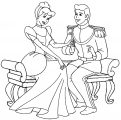 Cinderella And Prince Charming Coloring Pages 12