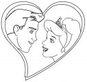 Cinderella And Prince Charming Coloring Pages 16