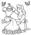 Cinderella Mice And Birds Coloring Pages 10