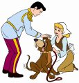 Cinderella and Prince Charming Coloring Pages 05