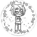 Circle Life Drawings Cute Coloring Page