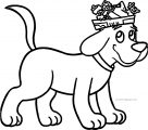 Clifford The Big Red Dog Coloring Page 02