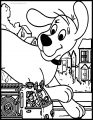 Clifford The Big Red Dog Coloring Page 03