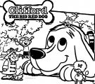 Clifford The Big Red Dog Coloring Page 05