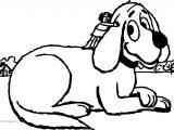 Clifford The Big Red Dog Coloring Page 09