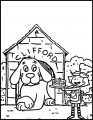 Clifford The Big Red Dog Coloring Page 10