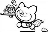Clip Art Bubblegum Kids 182 Kids We Coloring Page