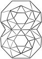Colourful Triangles Number Eight Coloring Page