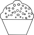 Cupcake Cup Cake Coloring Page 75