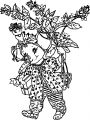 Cute Elephant Picture 3 Coloring Page