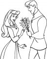 Disney Aurora and Phillip Coloring Pages 23