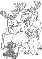 Disney Brother Bear Animals Coloring Pages