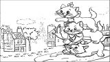 Disney The Aristocats Coloring Page 131