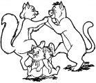 Disney The Aristocats Coloring Page 139